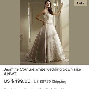 Wedding dress wedding gown. New never worn